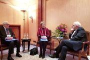 دیدار دو عضو گروه ریشسفیدان بینالمللی با ظریف