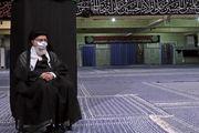 مراسم عزاداری رحلت رسول اکرم (ص) و شهادت امام مجتبی (ع) در محضر رهبر انقلاب