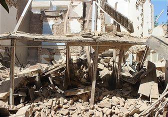 محبوس شدن ۴ کارگر در پی ریزش آوار ساختمان