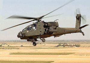 سقوط بالگرد آپاچی ارتش آمریکا