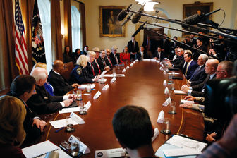 صحبت های ترامپ در میزگردِ کاخ سفید