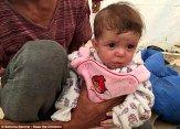 کودکانی که هنگام فرار از دست داعش به دنیا آمدند /تصاویر