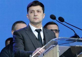 واکنش رئیس جمهور اوکراین به خبر سقوط هواپیما با اصابت موشک ایرانی