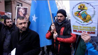 نوه صدام در تجمع حامیان داعش علیه ایران! + تصاویر