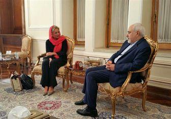 دیدار نماینده سازمان ملل در امور عراق با ظریف