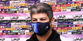 پاشایی: پرسپولیس بهترین تیم ایران است اما دنبال نتیجه خوب هستیم