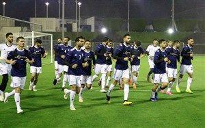 گزارش تمرین تیم ملی در قطر/ بازی گل کوچک+تصاویر