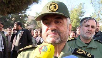 فرمانده سپاه: همه پاسداران ما اللهدادی هستند