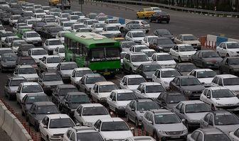 کاهش ۱۰ درصدی ترافیک معابر پایتخت نسبت به روز گذشته
