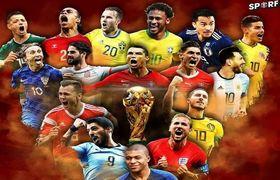خنده دارترین و جالبترین اتفاقات جام جهانى روسیه/ فیلم