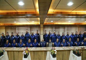 دیدار فرمانده نیروی هوایی ارتش با سربازان اهل سنت
