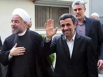روحانی در پاستور و احمدی نژاد در دانشگاه چه می کنند؟