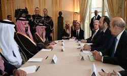فرانسه و عربستان علیه ایران هم پیاله شدند
