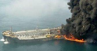 دلیل فاجعه انفجار نفتکش ایرانی در دریای چین+ عکس