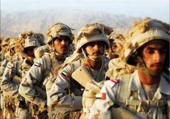 حضور افسران آمریکایی در صف نیروهای نظامی اماراتی