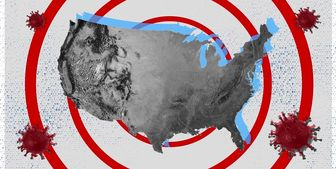 جولان کرونا در آمریکا /ثبت ۶۷ هزار مبتلا و حدود ۹۰۰ فوتی جدید طی یک شبانه روز