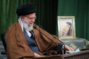 سخنرانی رهبر انقلاب به مناسبت ۱۷ ربیعالاول/ گزارش تصویری