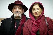 زوج بازیگر در اکران «مسخرهباز»/ عکس