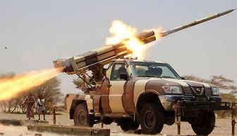 اصابت موشک ارتش یمن به مواضع عربستان