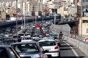 وضعیت ترافیکی معابر بزرگراهی شهر تهران