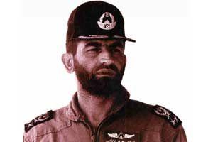 احترام نظامی ژنرال آمریکایی به عباس بابایی