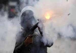 حمله نظامیان آمریکایی به مهاجرات با گاز اشک آور