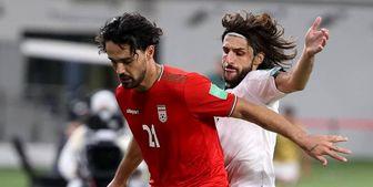 محرومیت نورافکن از بازی با لبنان