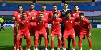 اعلام لیست تیم ملی فوتبال ایران