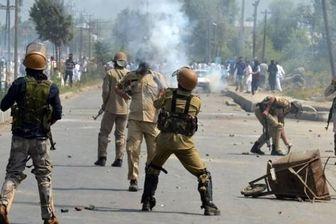 درگیری بین نیروهای امنیتی هند و شبه نظامیان در کشمیر