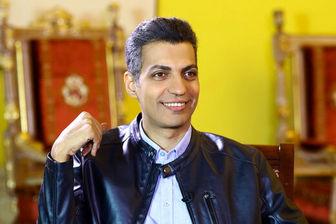 عادل فردوسی پور در کنار رونالدوی بدلین +عکس