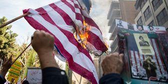 بازتاب راهپیمایی سیزده آبان در رسانههای جهان/ عکس ترامپ به آتش کشیده شد