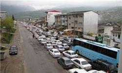 ترافیک نیمه سنگین در باند شمالی آزادراه کرج-قزوین
