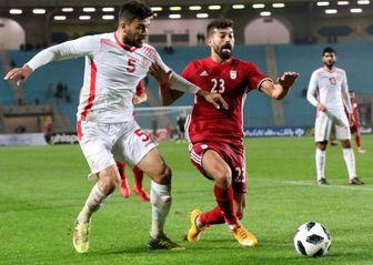 ایران صفر - تیم تونس 1 /رکورد شکست ناپذیری شاگردان کی روش شکست