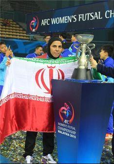 مشهورترین زن فوتبالیست ایرانی:من شیفته عابدزاده هستم+تصاویر