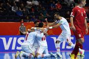 پخش زنده بازی تیم ملی فوتسال ایران و آرژانتین
