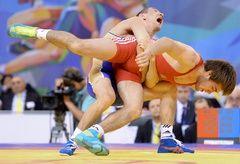 روسیه قهرمان کشتی فرنگی جهان شد