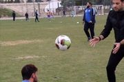 تمرینات اختصاصی اللهیار صیاد منش مهاجم تیم فوتبال استقلال تهران