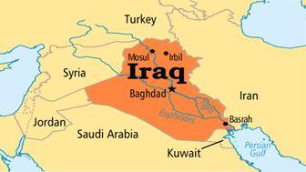 اصابت راکت به بخش نظامی فرودگاه بغداد