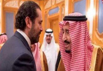 استقبال الحریری از پادشاه سعودی