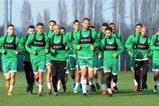 مراکشی ها در اردو ؛ همه آماده بازی اوکراین
