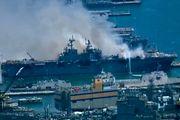 معلوم نیست کشتی حادثهدیده آمریکا قابل تعمیر باشد