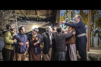 بازدید مدیر شبکه 1 از پشت صحنه سریال نوروزی سعید آقاخانی/ عکس