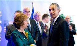 حضور اوباما در نشست اشتون با موضوع ایران