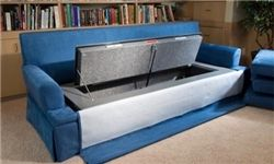 ساخت اولین کاناپه ضد گلوله در جهان