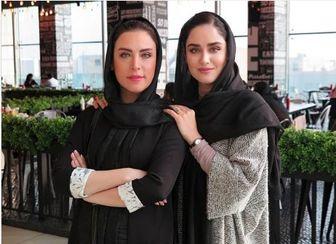 عکس مادر و دختری خانم های بازیگر