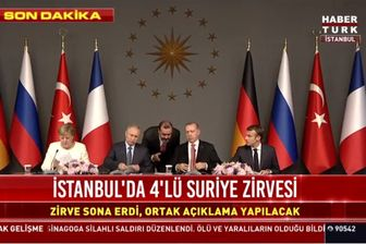 تصمیمات چهار کشور ترکیه، آلمان، روسیه و فرانسه درباره سوریه