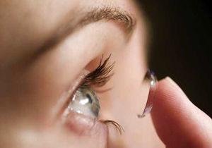 لنز چه خطراتی برای چشممان دارد؟