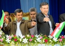 ضربه فنی ۳۰ آمریکایی توسط احمدی نژاد