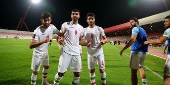 جدول تیمهای دوم مقدماتی جام جهانی