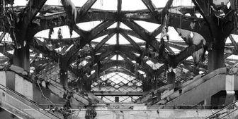 آتش سوزی در ایستگاه قطار جده بخشی از طرح بنسلمان را خاکستر کرد+ عکس